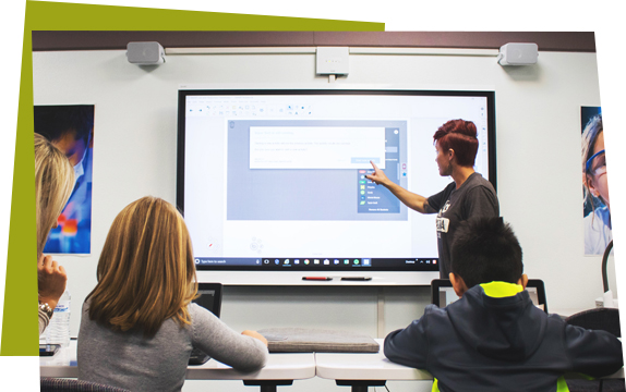 smart boards in the classroom