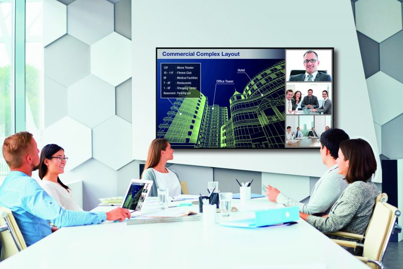 Web conferencing with business partner