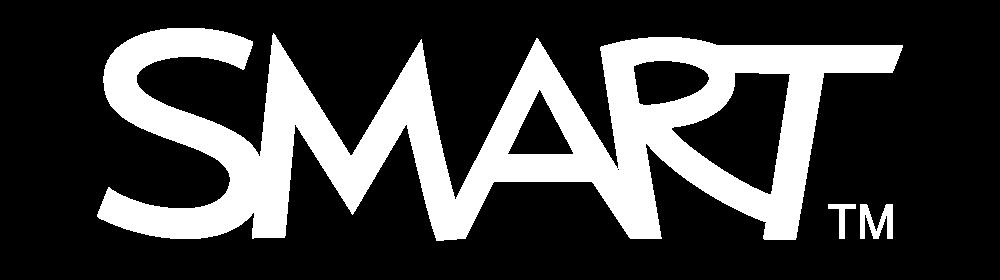 smart white logo